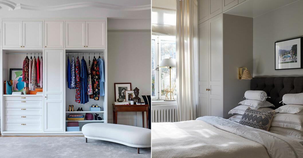 planera garderob och förvaring