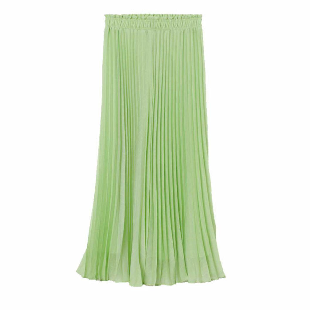 Plisserad kjol från H&M