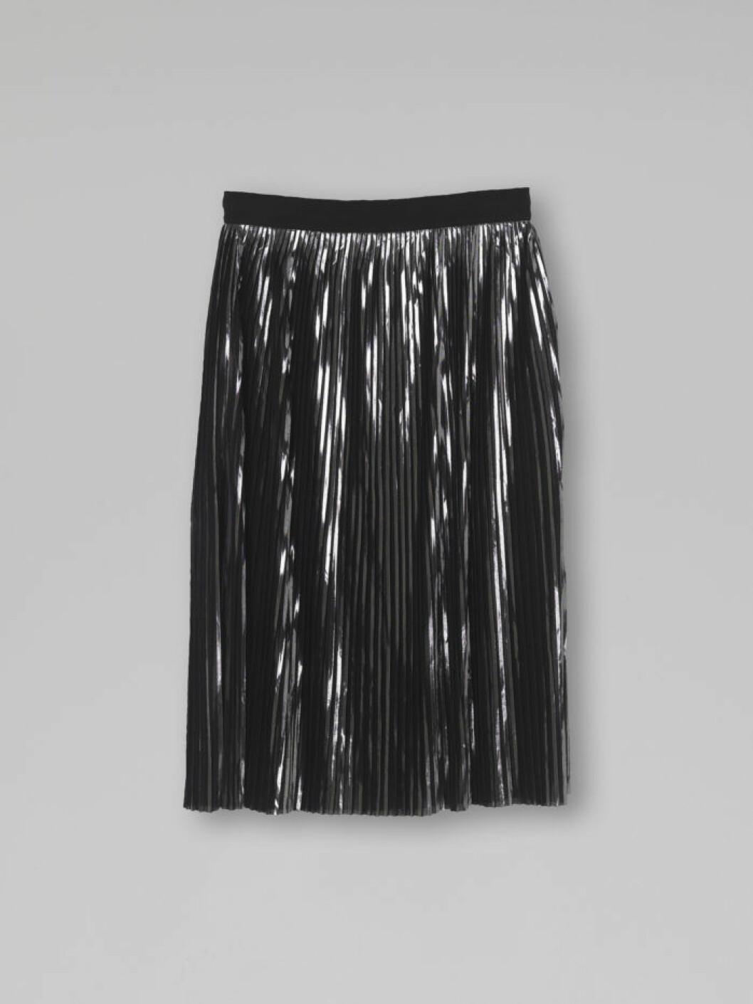 Plisserad silverkjol från Malene Birger