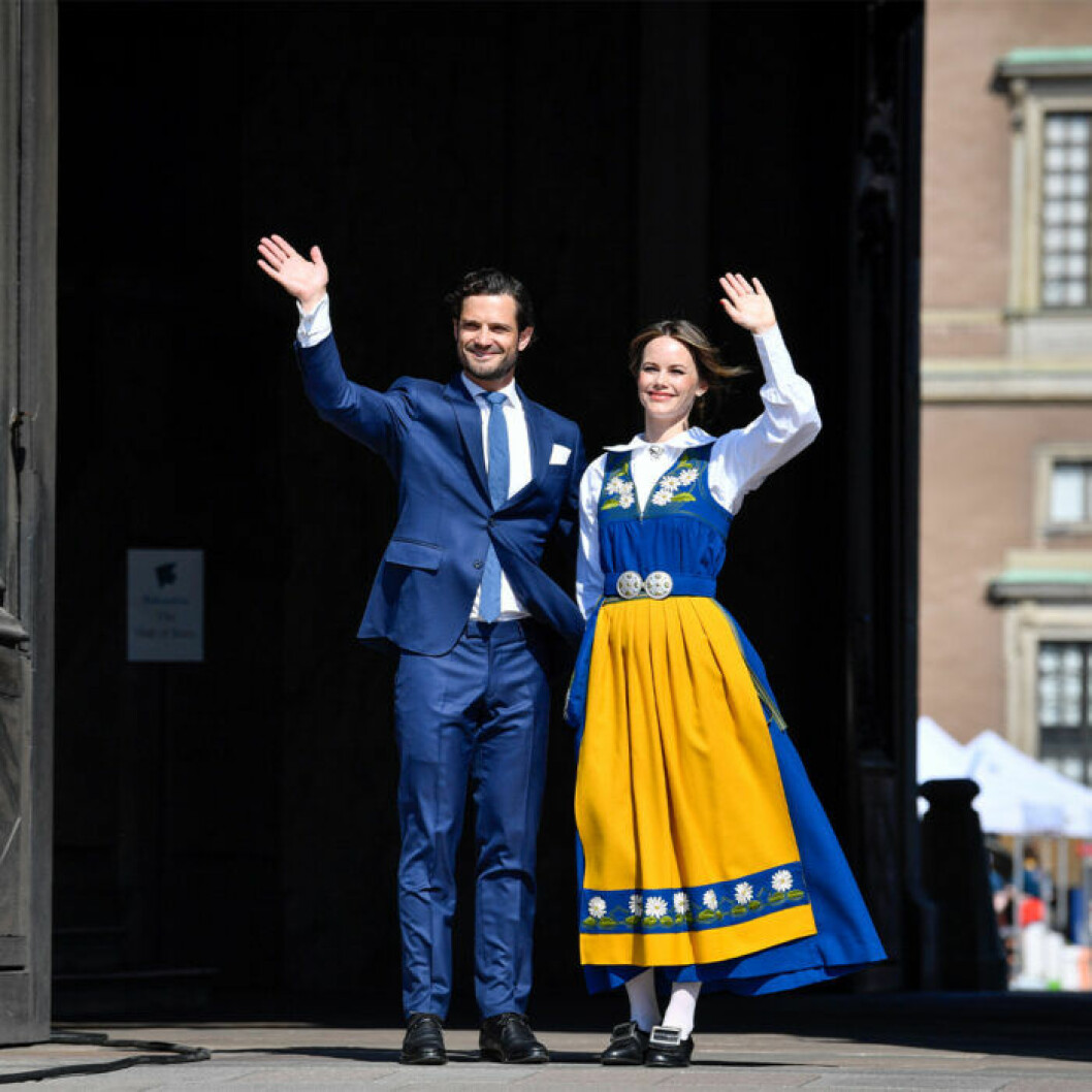 Det svenska prinsparet