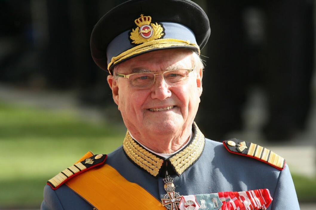 Prins Henrik av Danmark dog 2018.
