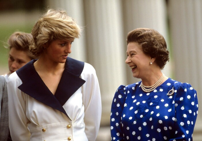 prinsessan diana och drottning elizabeth II