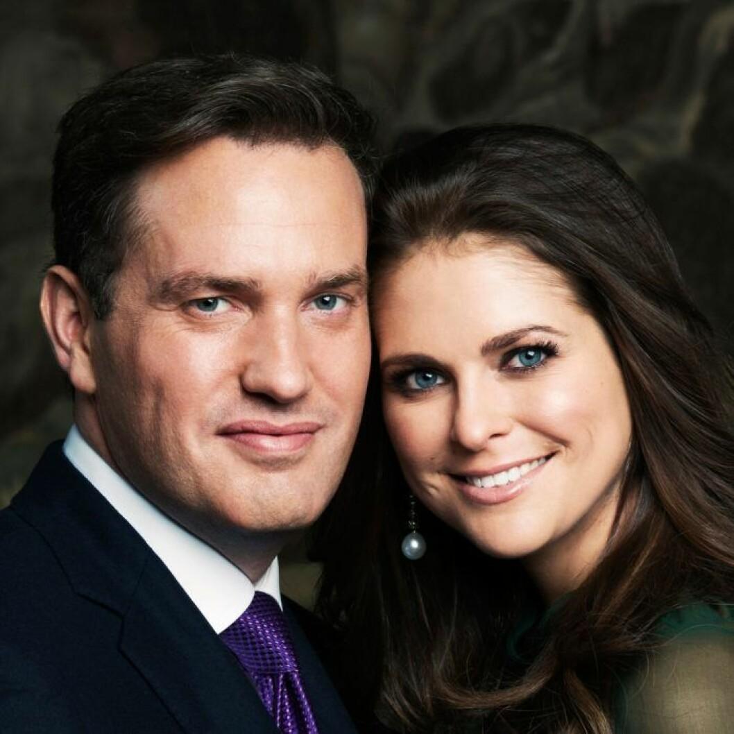 Prinsessan Madeleine Chris O'Neill förlovningen 2012
