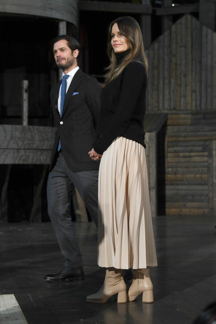 Prinsessan Sofia med maken, prins Carl Philip.