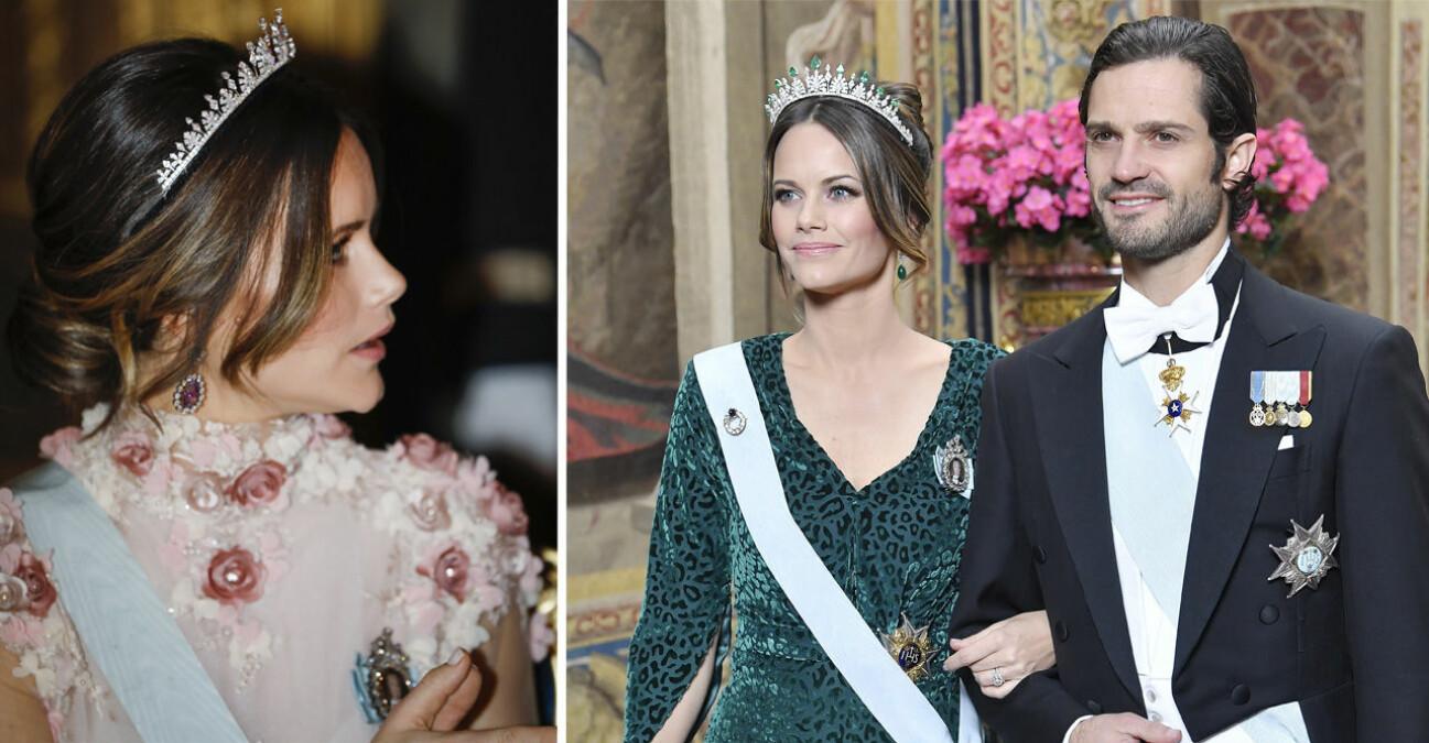 Prinsessan Sofia tillsammans med prins Carl-Philip