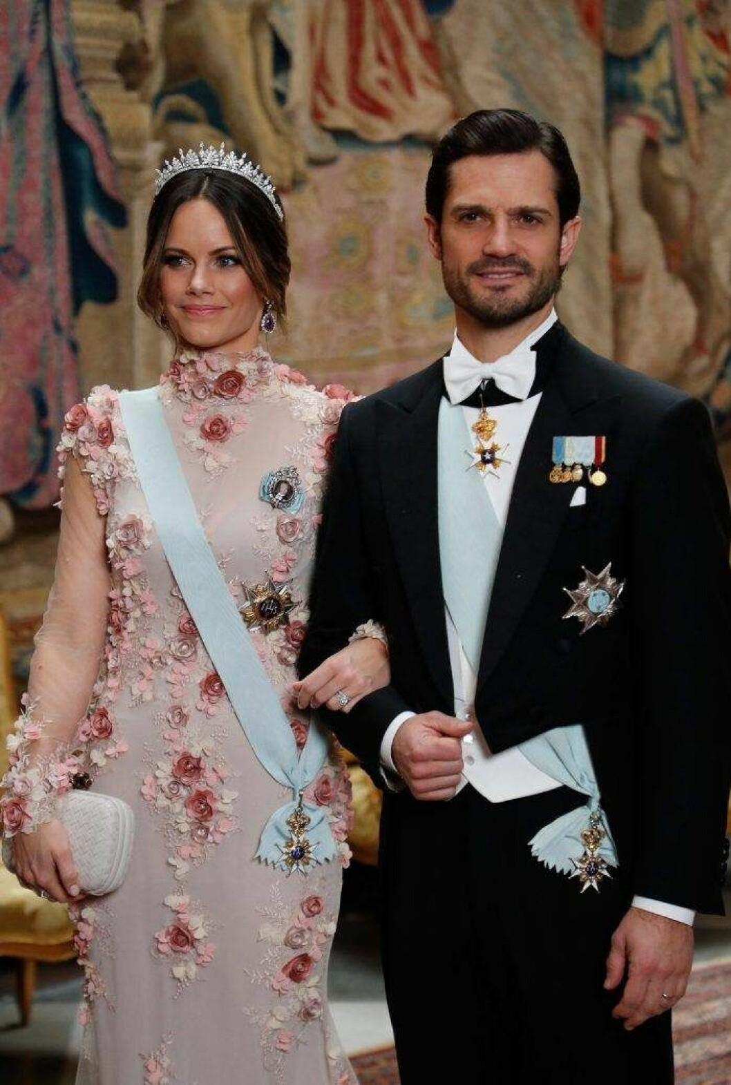 På kungens middag 2019 bar hon tiaran i sin ursprungliga form.