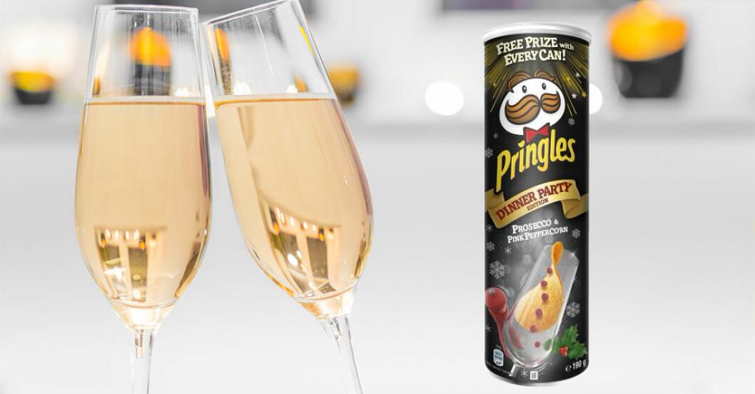 Pringles med prosecco-smak