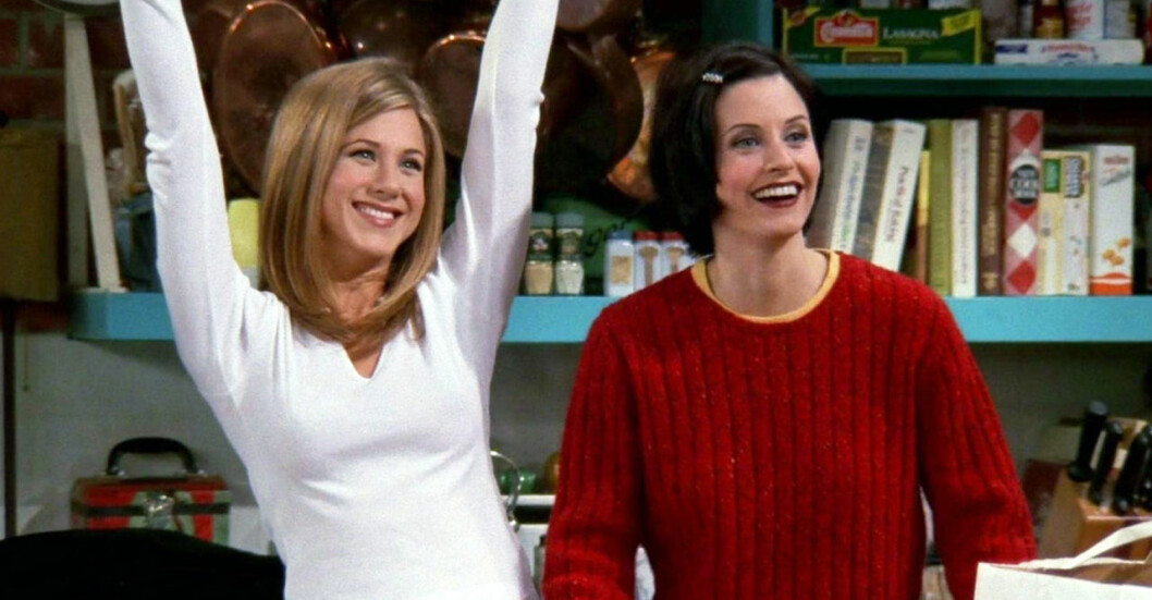 Rachel och Monica i Vänner