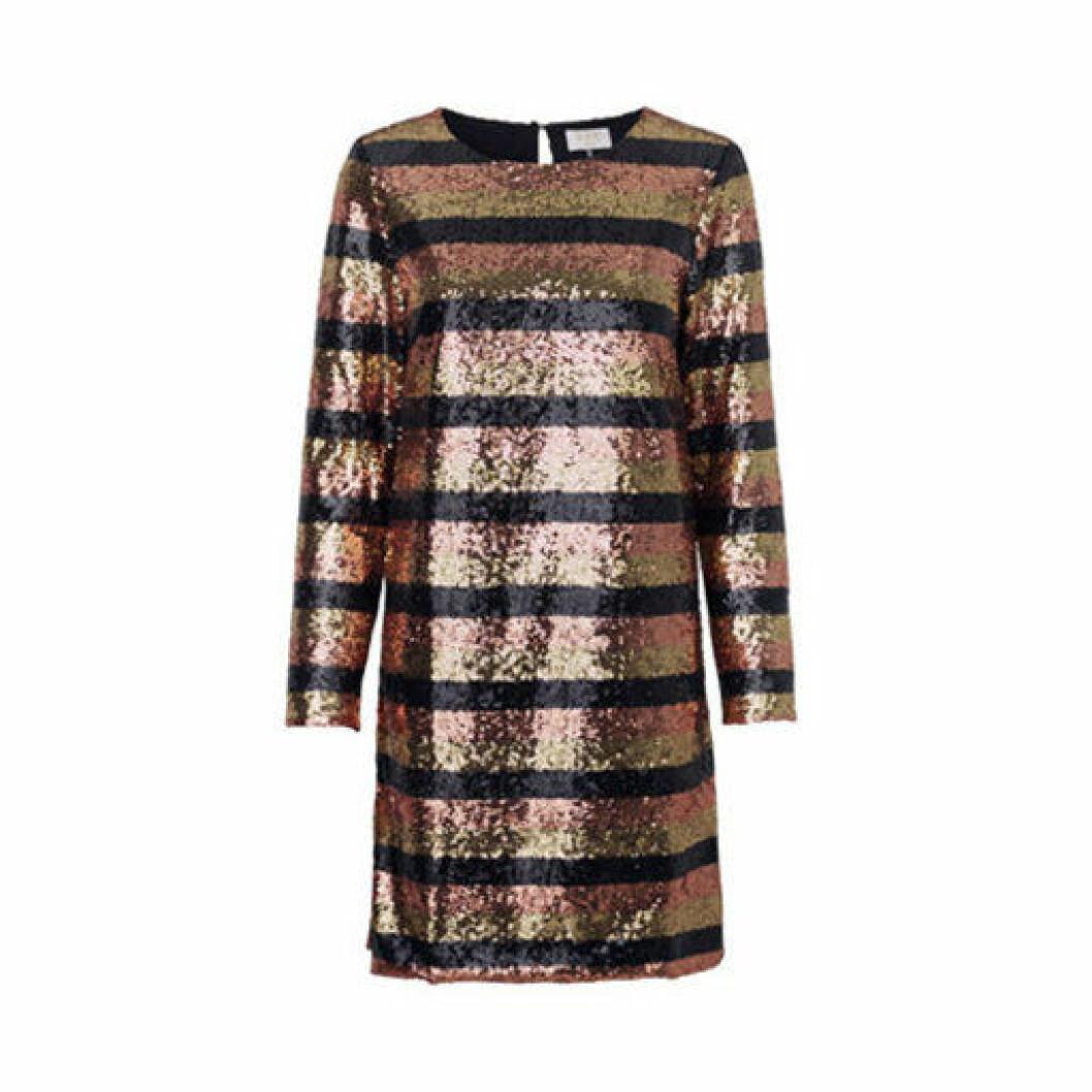 Randig paljettklänning med långa ärmar från DAY Birger et Mikkelsen