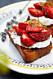 Bruschetta med jordgubbar