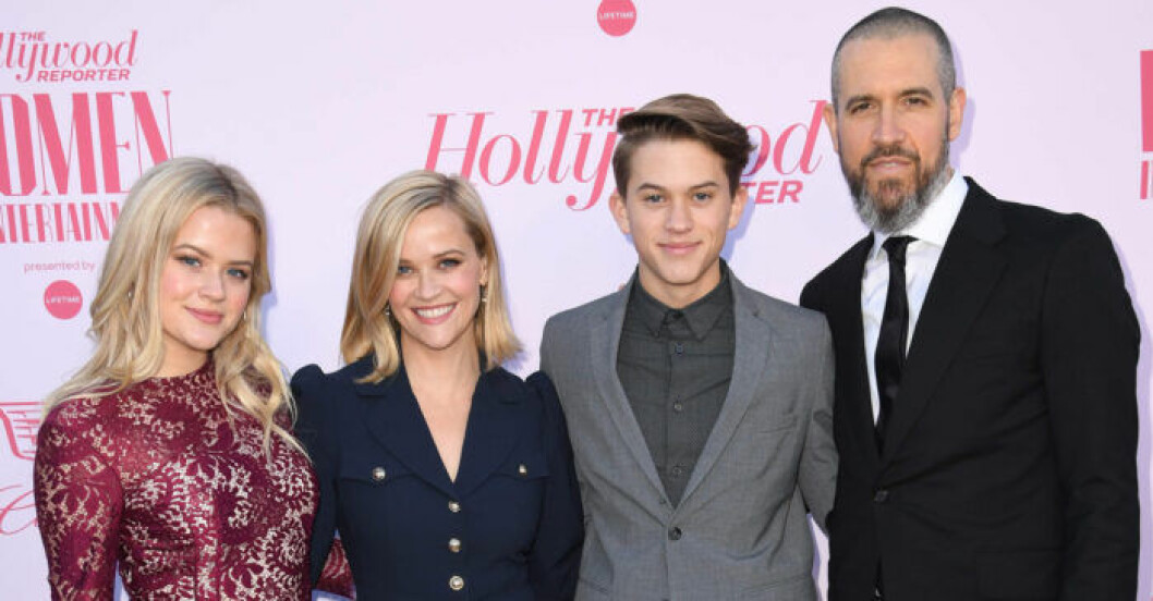 Reese Witherspoon med familj