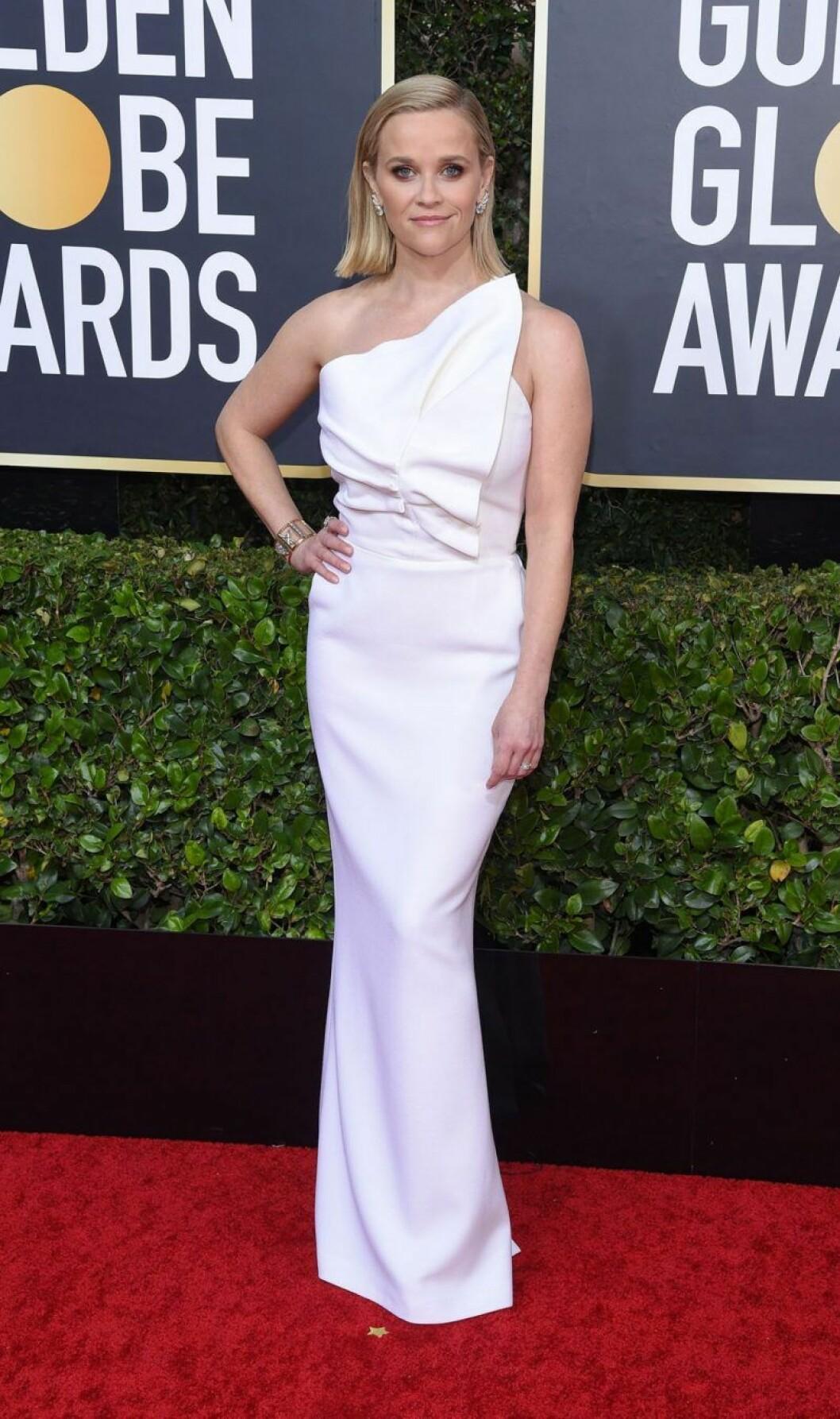Reese Witherspoon på Golden Globes.
