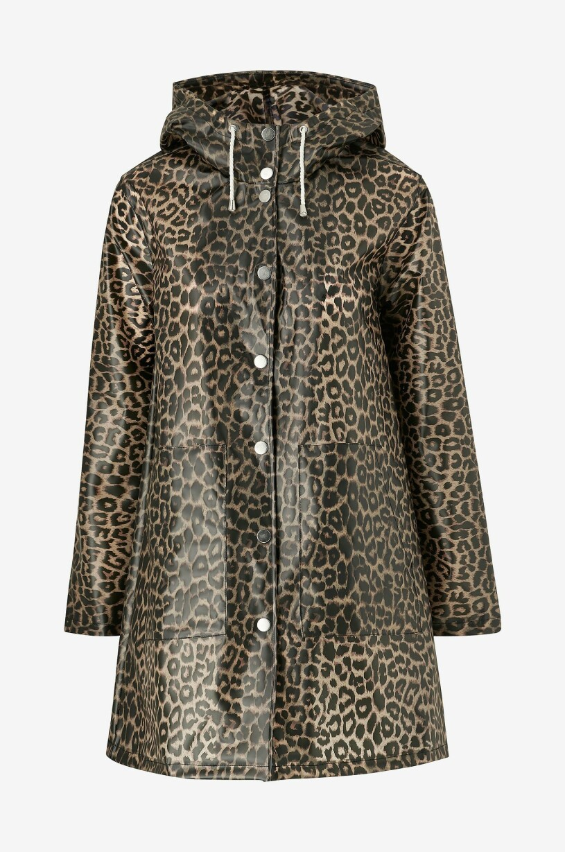regnjacka leopardmönster ellos