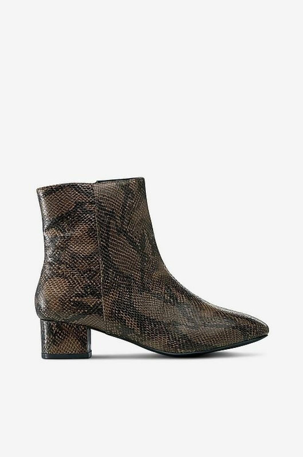 Reptilmönstrade boots från Ellos
