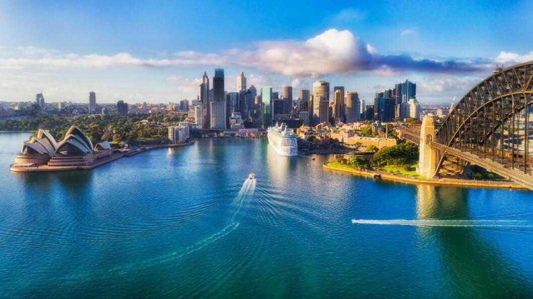 Sydney Harbour översiktsbild