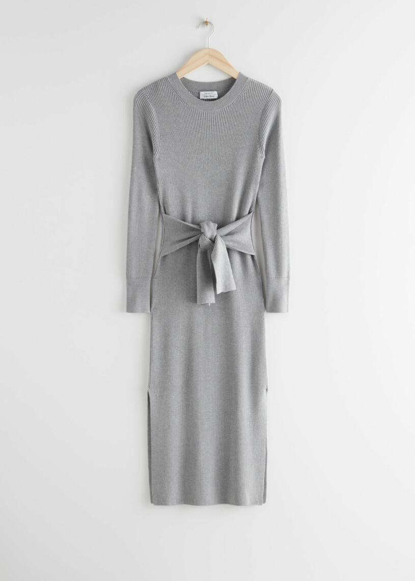 stickad klänning & Other stories