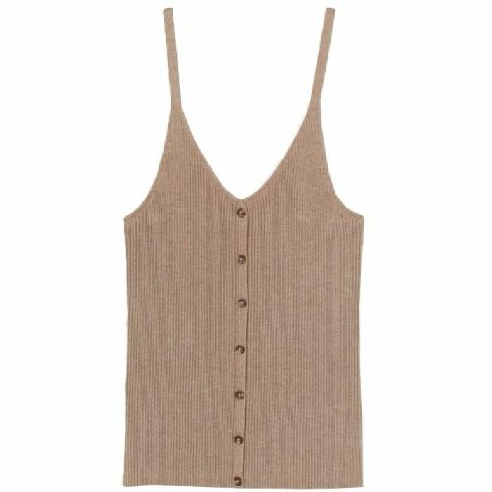 ribbstickat linne från H&M