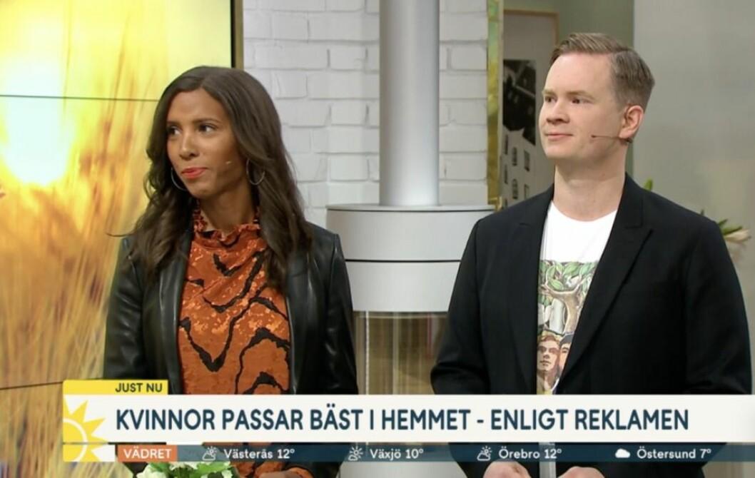 Ricki Petrini och Tomas Gunnarsson