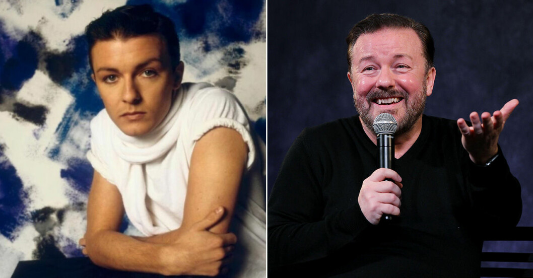 ricky gervais ung