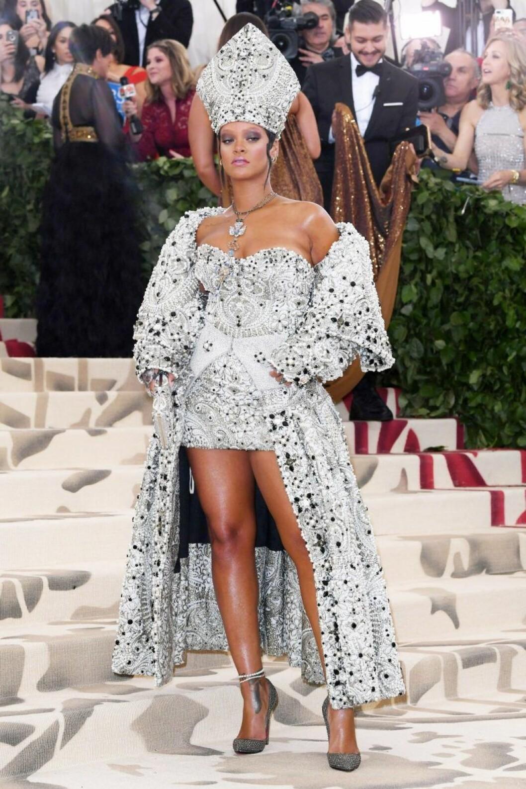 Rihanna på Met-galan 2018