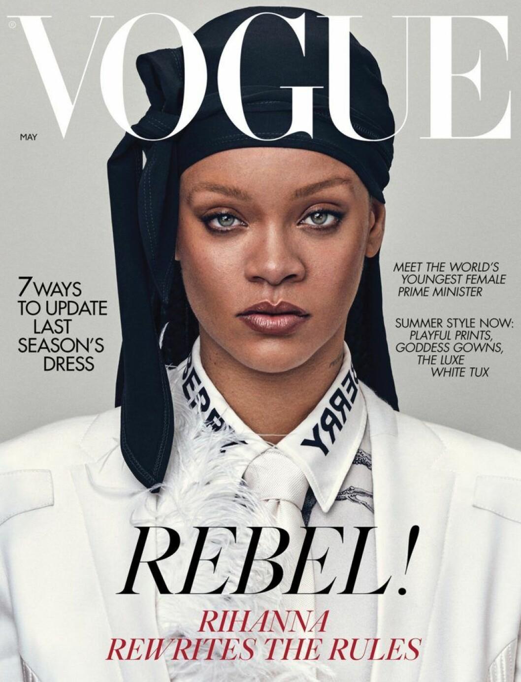 Rihanna på Vogue