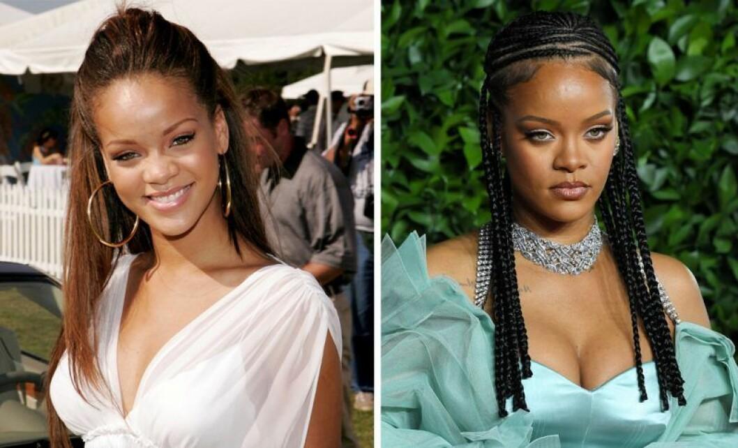 Rihanna som tonåring