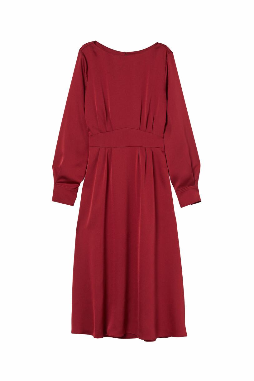 röd klänning Giuliva Heritage x H&M