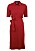 röd pikéklänning från Stenströms
