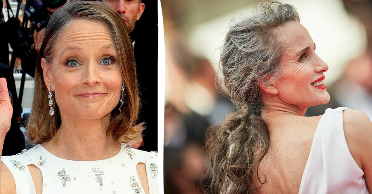 Jodie Foster och Andie MacDowell på Cannes Filmfestival.