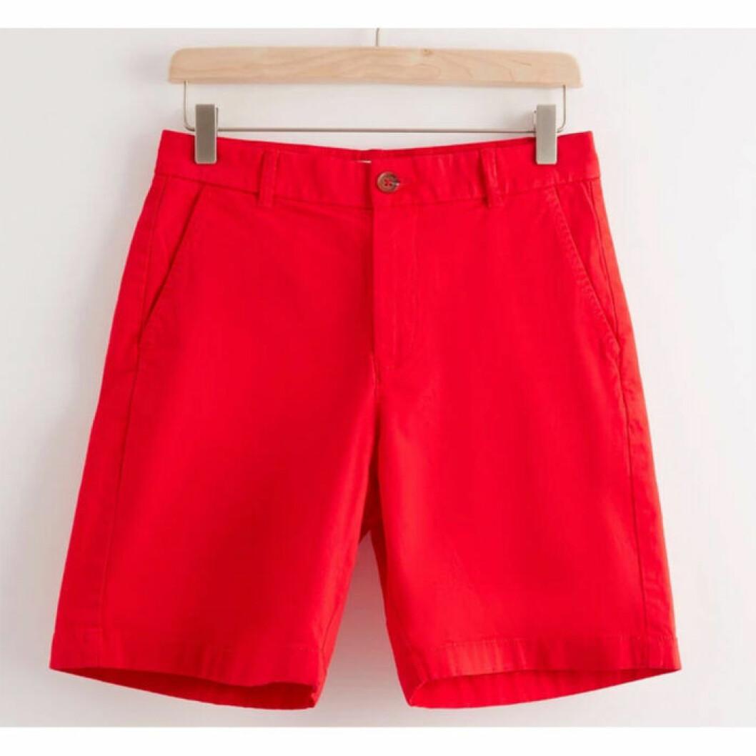Röda shorts från Lindex
