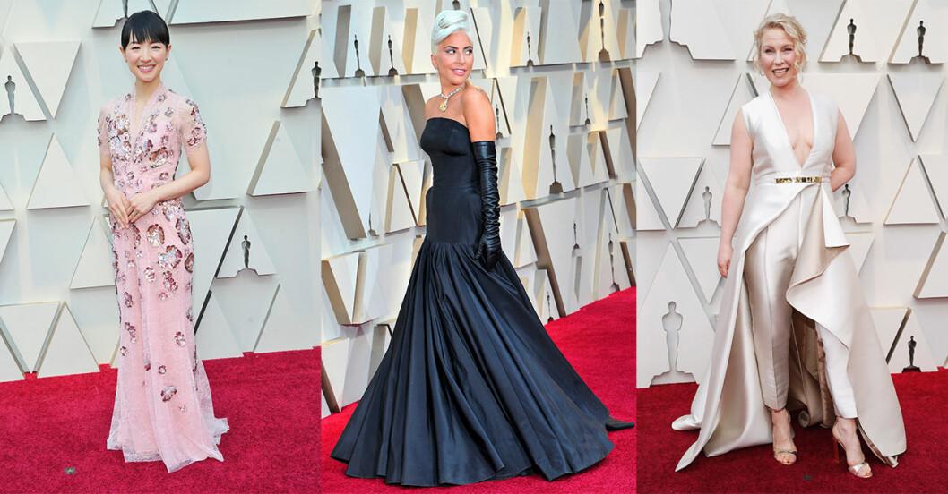 Bilder från röda mattan på Oscarsgalan 2019