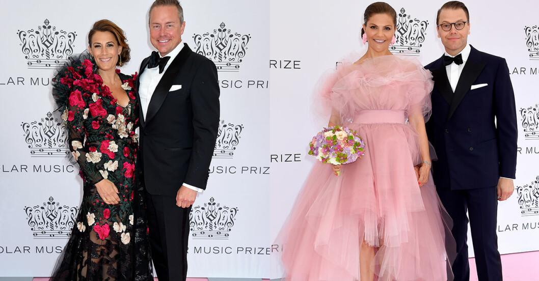 Bilder från rosa mattan på Polarpriset 2019