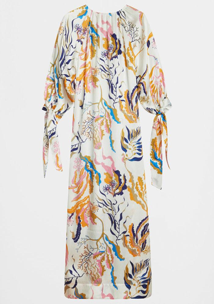 mönstrad klänning Ecru från Rodebjer