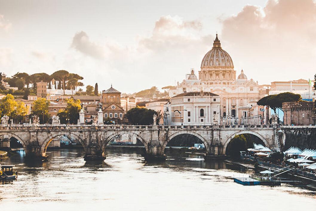 Rom är varmt och soligt hela hösten