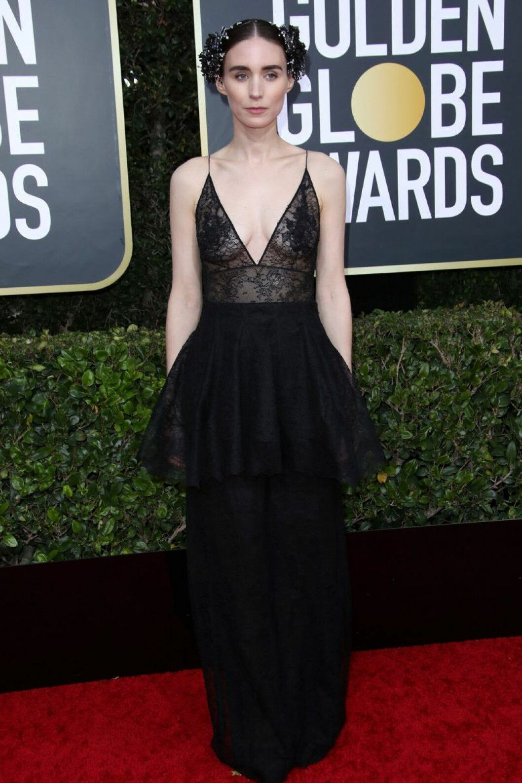Rooney Mara på Golden Globes