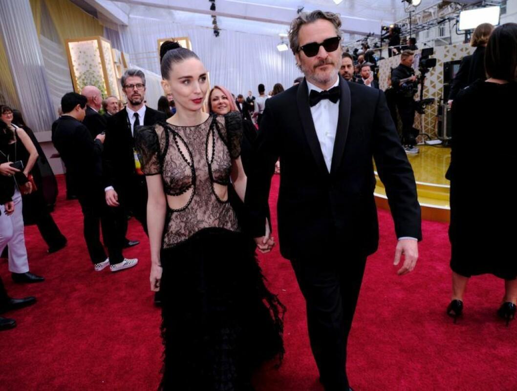 Rooney Mara och Joaquin Phoenix