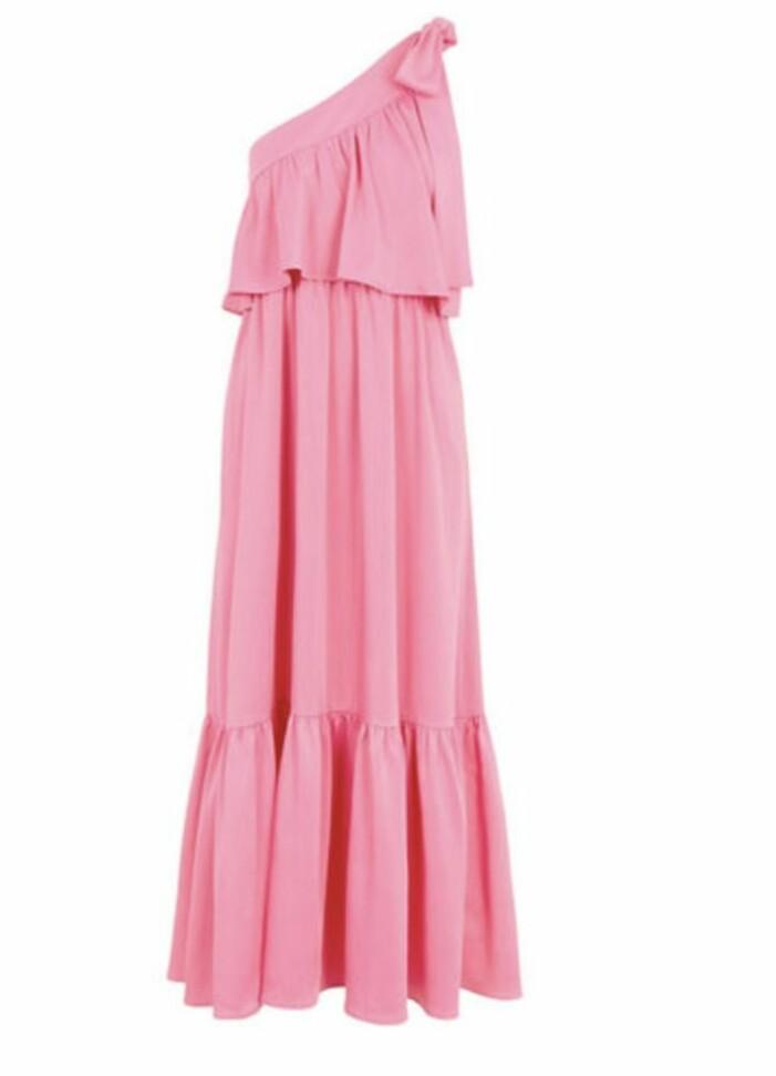 rosa klänning YAS