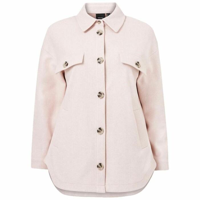 rosa skjortjacka