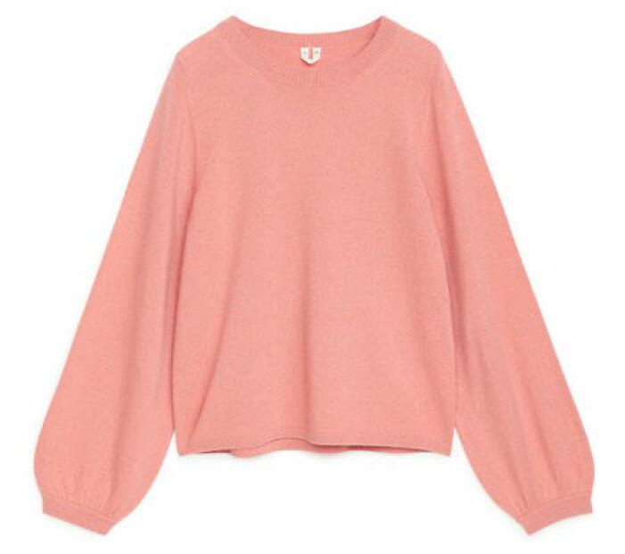 rosa tröja kashmir