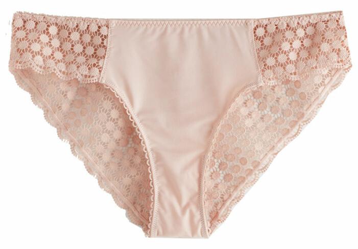rosa underklädesset
