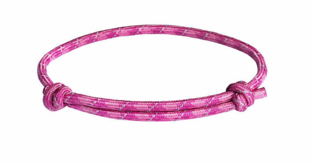 Årets Rosa Bandet går också att köpa som armband.