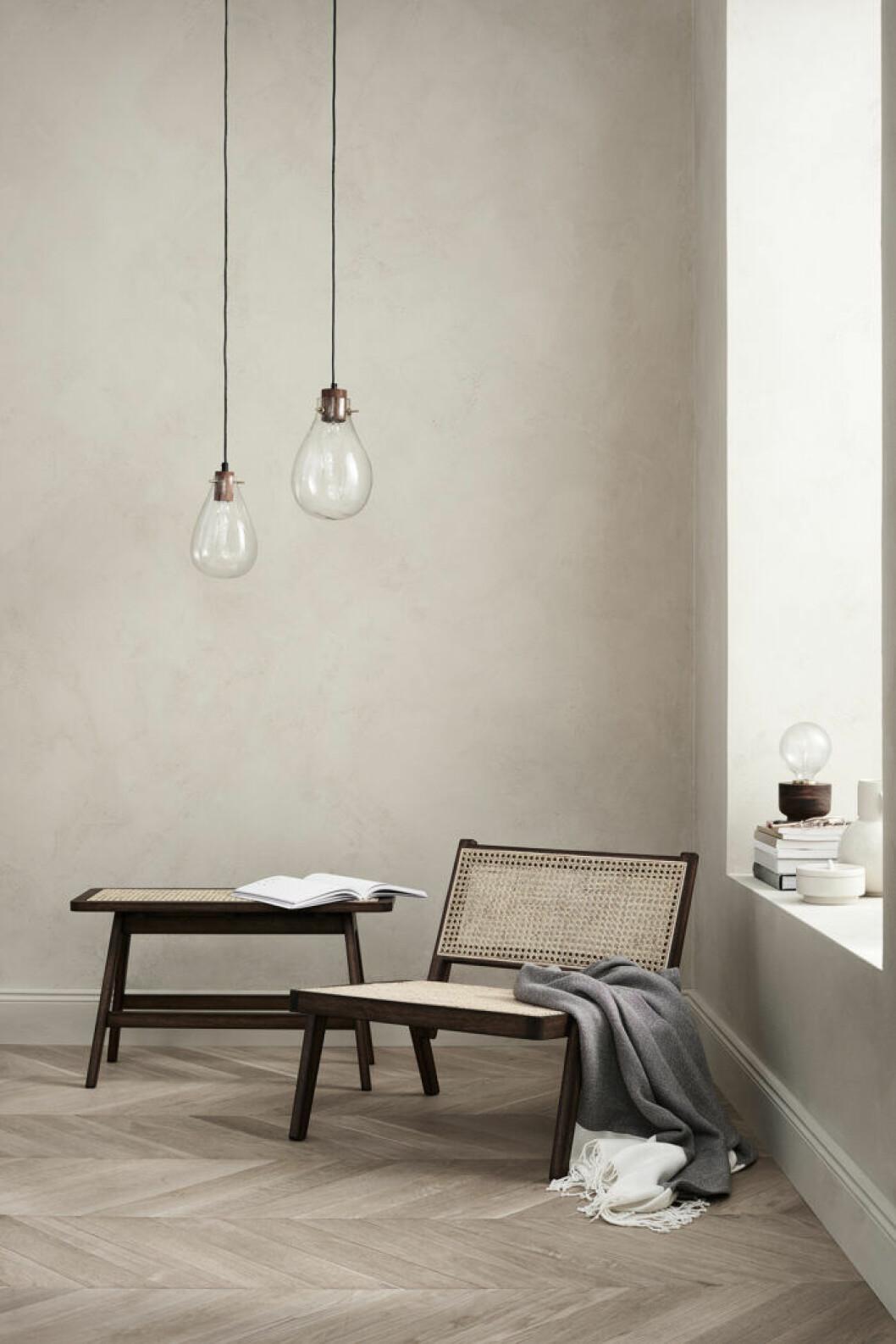 Trendiga möbler i rotting från H&M home