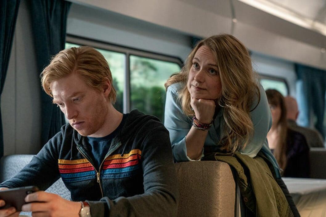 En bild från tv-serien RUN, som har premiär på HBO den 13 april.