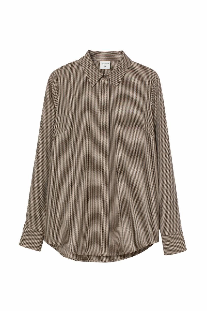 rutig skjorta Giuliva Heritage x H&M