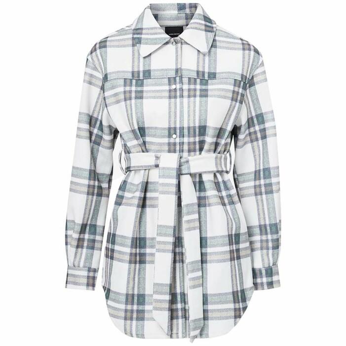 rutig skjortjacka