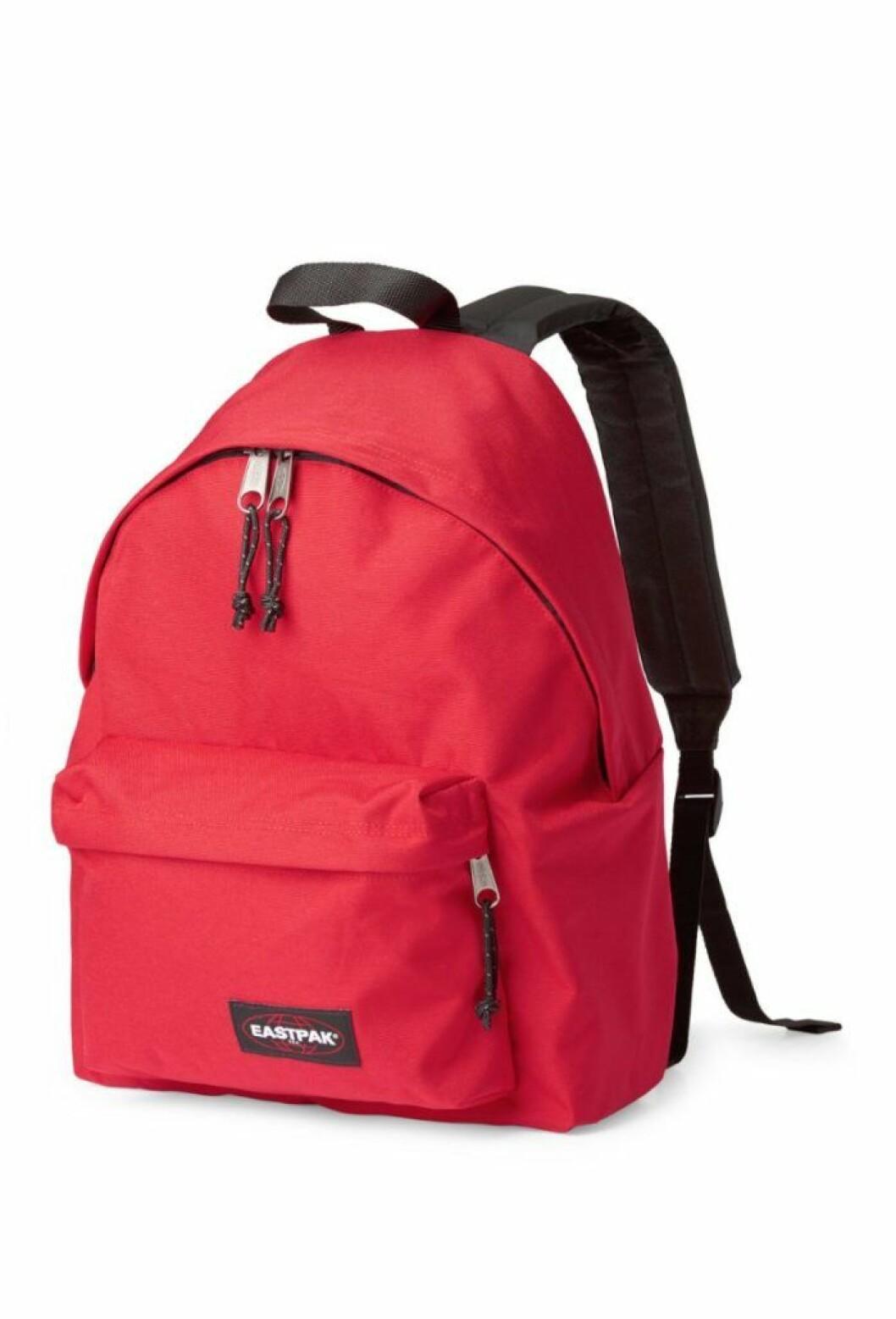 Röd ryggsäck från East Pak