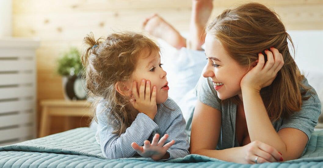 Pratar och kommunicerar du med ditt barn kan framtida IQ bli högre