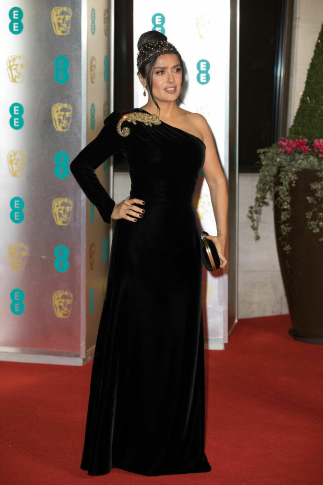Salma Hayek på BAFTA 2019