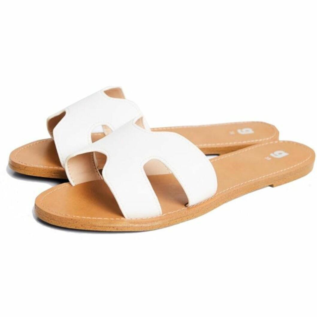 Vita sandaler