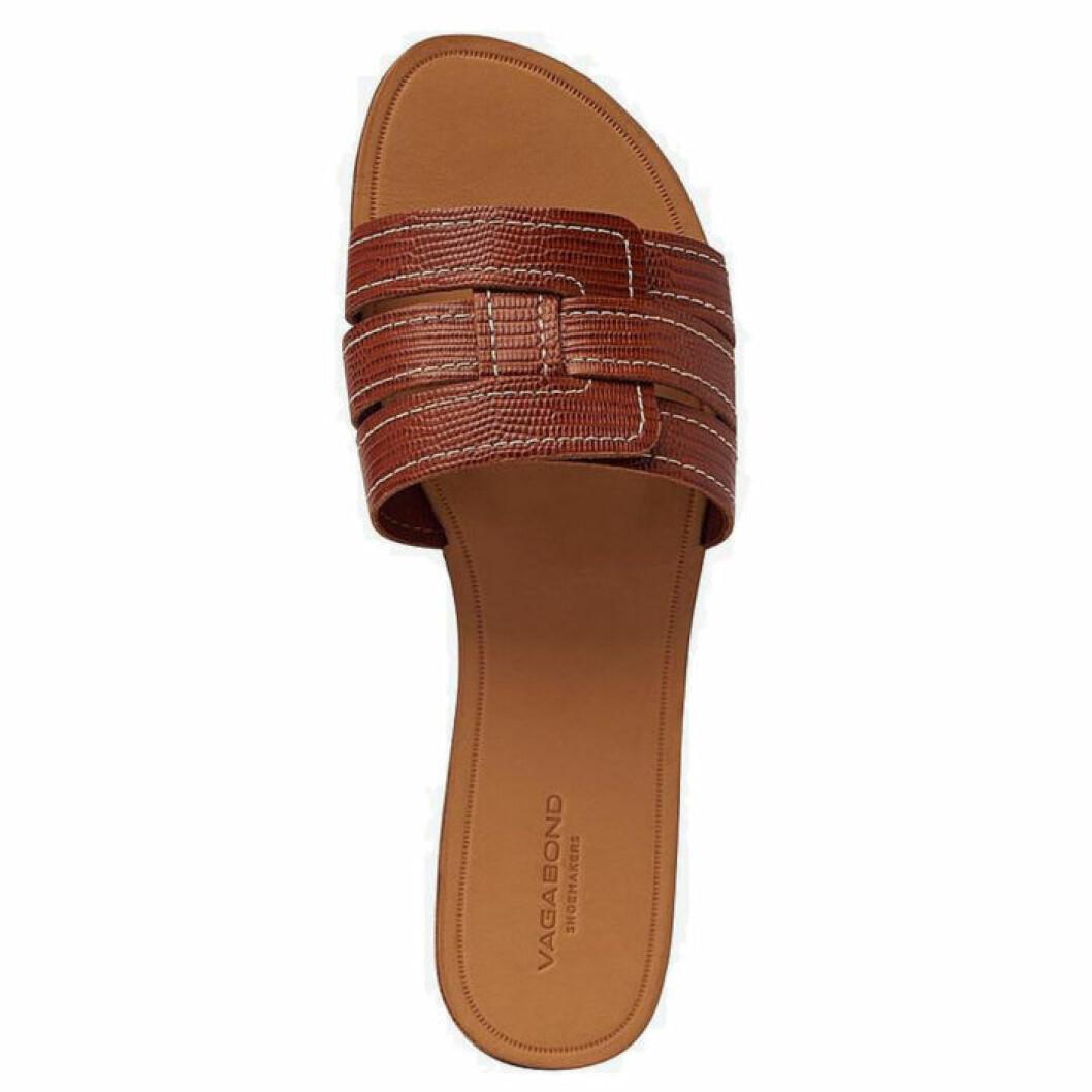 Sandaler i slip in modell